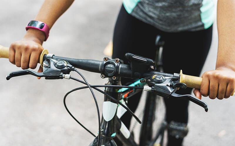 การปั่นจักรยาน