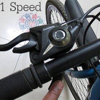 การใช้เกียร์จักรยาน 21 สปีด ที่ถูกต้องตามสถานการณ์